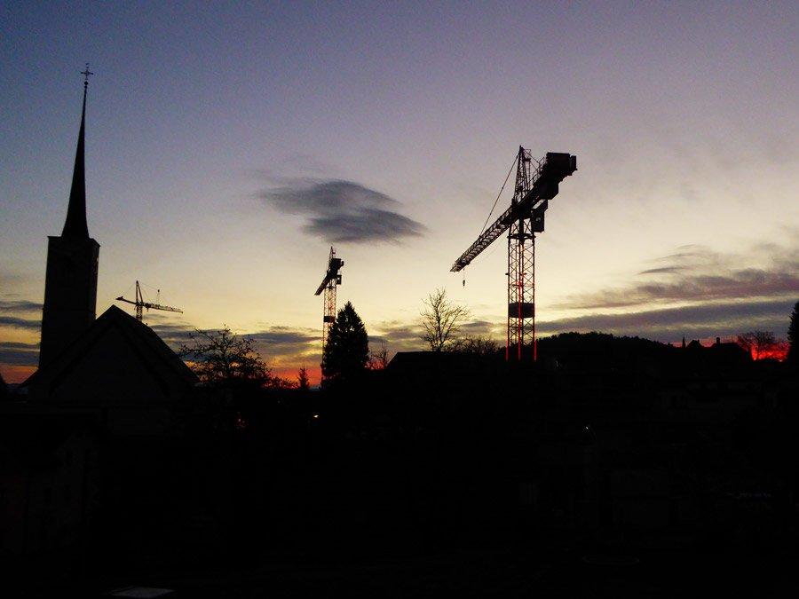 Rickenbach bauen - Etwas ausserhalb aber sehr nahe liegend