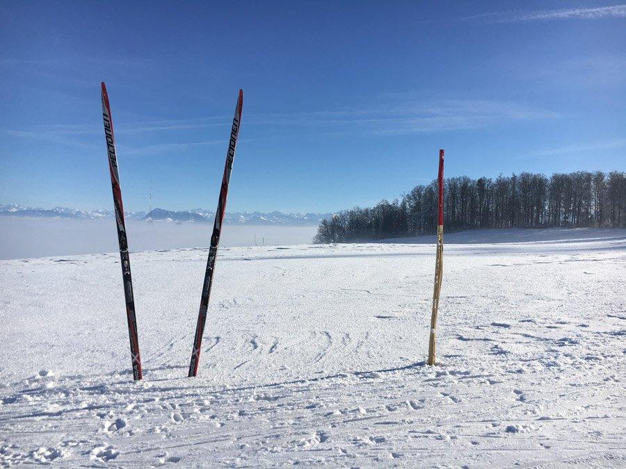 Rickenbach langlauf - Winterwunderland