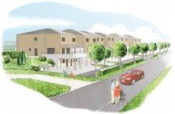 Sonnenrain - Sonnenrain: 6 Doppel-Einfamilienhäuser