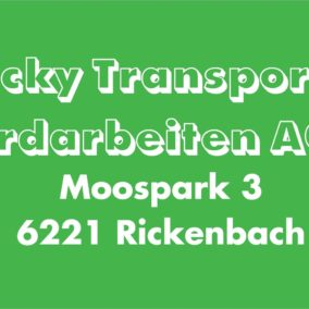 Wicky Transport 284x284 - Wicky Transport + Erdarbeiten AG