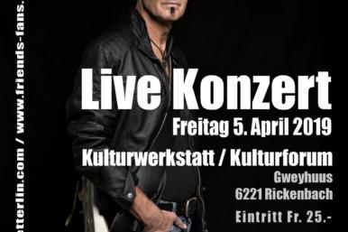 Kulturforum Rickenbach 2019 A6 01 386x257 - Culture Club: Live Konzert Paul Etterlin
