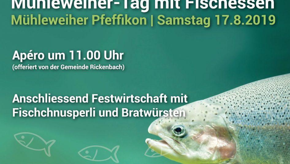 Mühleweiher 2019 946x535 - Mühleweiher-Tag mit Fischessen