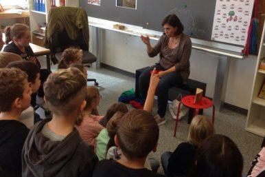 20190918 Umweltpädagogin 02 386x257 - Umweltpädagogin besucht die 3./4.Klasse Rickenbach