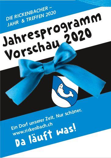 Titelbild Flyer Rbach JT - Rickenbacher Jahr & Treffen 2020