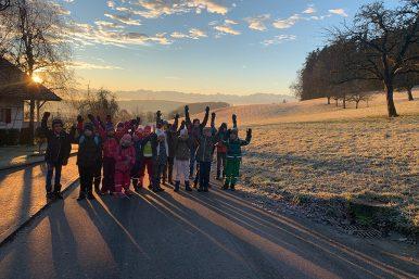 Winter im Wald erleben 08.01.2020 03 386x257 - Ein Morgen im Winterwald